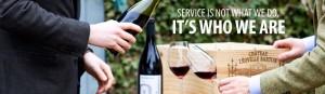 Service at De Burgh Wine Merchants