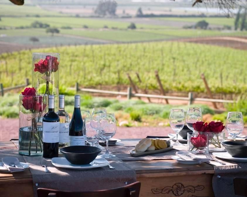 Food and Wine at Casas del Bosque