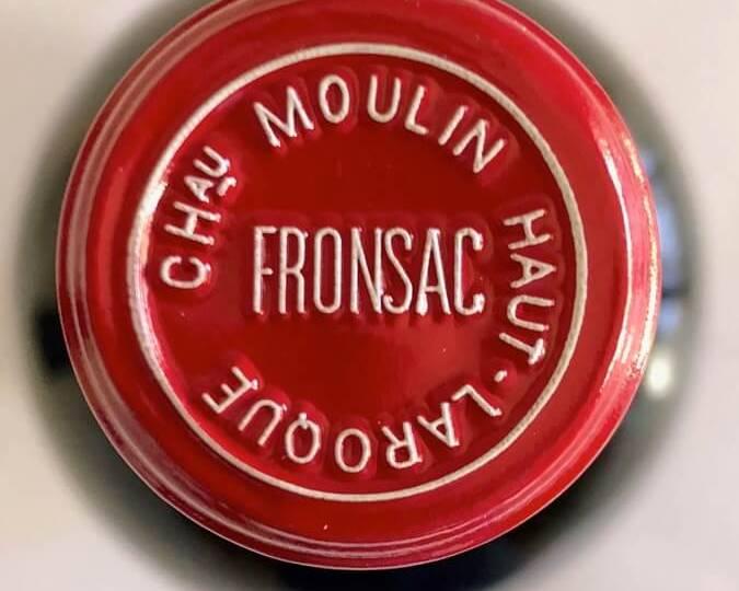 Fronsac - Ch Moulin Haut-Laroque