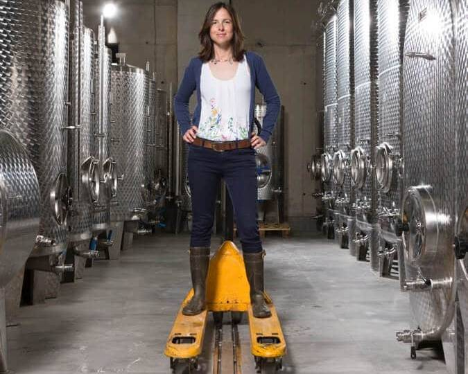 Ingrid Groiss Winemaker