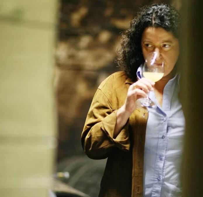 Tasting in the Winery - Sybille Kuntz